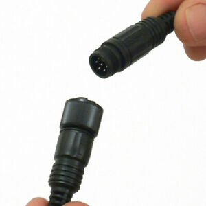 4ft Male And Female Ip68 6 Conductor 6c 6 Pin Connector Synthetic Waterproof