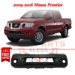Front Bumper Cover Primed For 2009 2016 Nissan Frontier