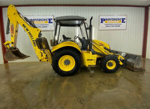 2016 New Holland B95c Backhoe Orops With 4x4 24 Bucket