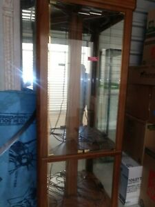 Used Glass Display Showcase 40 l 81 h 16 d Located Port Saint Lucie Area