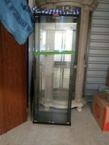 Used Glass Display Showcase Located Port Saint Lucie Area