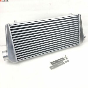 Front Mount Aluminum Tube fin Intake Intercooler Fmic 3 I o Overall 31x12x4inch