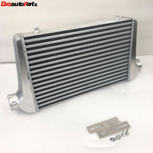 Aluminum Intercooler For Ford Mazda 2 5 I o 25 x12 x3 Inlet outlet Ic Un002