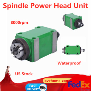 2hp 8000rpm Spindle Unit Power Head For Cnc Milling Machine Waterproof 1 5kw