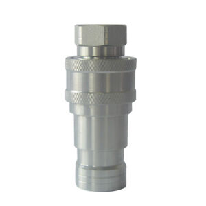 Iso 7241 b Hydraulic Quick Release Coupling 1 2 Inch Npt 4000psi 12gpm