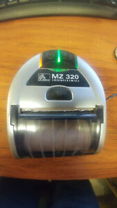 Zebra Mz320 Bluetooth Mobile Receipt Printer M3e 0ub00020 00