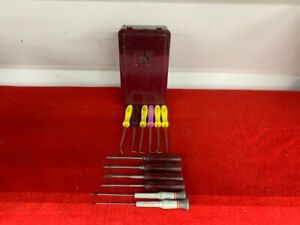 Snap On Mini 12 Pak Mixed Set 12 Tools 10 Snap On 2 Craftsman W Case