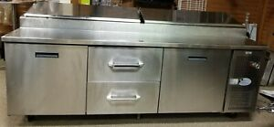 Pizza Prep Table W Refrigerated Base Randell Model 8395n 290 95