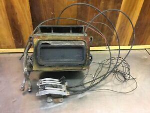 Fiat 124 Spider Heater Box Assembly With Controls For Parts F2510