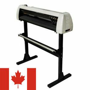 Ca Stock 28 720mm Paper Feed Vinyl Cutter Plotter Sign Cutting Machine W Stand