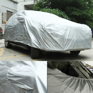3l xl Universal Fitted Waterproof Rain Snow Sun Dust Resistant Car Cover Outdoor