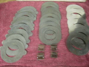 12 Bolt Chevy Steel Clutches Camaro Chevelle Posi Traction Nova Original Equip