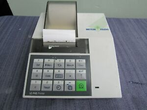Mettler Toledo Lc p45 Analytical Balance Printer Excellent And Guaranteed Many