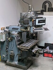 Bridgeport Series 1 Cnc Knee Mill With Tool Package