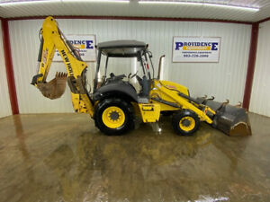 2014 New Holland B95c Backhoe Orops With 4x4 24 Backhoe Bucket