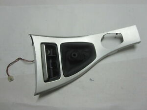 2006 2011 Bmw 330xi Sedan E90 Center Console Bezel Silver Shifter Cup Trim Oem