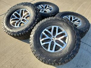 17 Ford F 150 Raptor Fx 4 Oem Rims Wheels Bfg Tires Oe 10115 2017 2018 2019
