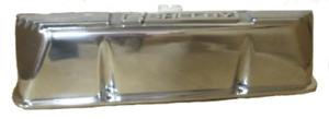 Shelby Fe Finned Valve Cover pair polished Finish