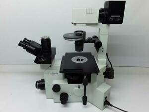 Olympus Ix70 s8f Inverted Fluorescence Microscope Infinity W 5 Objectives
