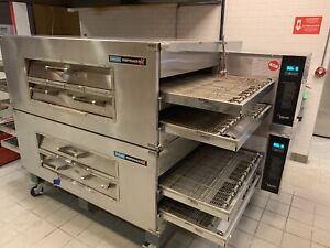 Lincoln Impinger X2 Double Stack Ng Commercial 4 Conveyor Pizza Oven 3262 2