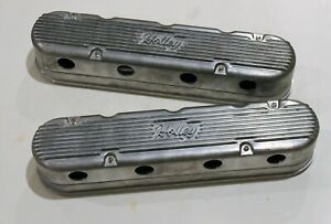 Holley Two Piece Ls Valve Covers With Coil Covers Vintage Series 241 170