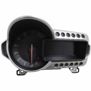 Chevy Sonic Rs Instrument Cluster Speedometer Kph Mid 2016 94532557