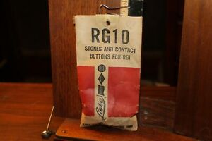 Vintage Rg10 Stones Contact Buttons For Rgi For Lisle Cylinder Hone