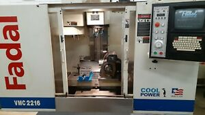 Fadal Vmc 2216ht Cnc Vertical Machining Center Mill With 5 Axis Trunnion