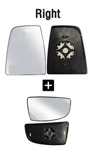 Ford Transit Mirror Large And Small Glass Set150 250 350 Rh Passenger 2014 2018