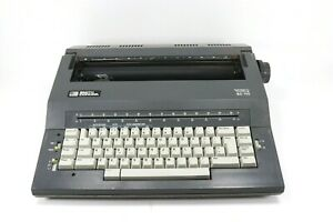Smith Corona Sc 110 Portable Electric Typewriter Dictionary Fonts Correct W case