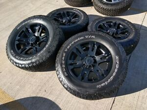 17 Toyota Tacoma Tss Oem Trd Black Wheels Rims Tires 2015 2016 2017 2018 2019