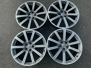 Four 2017 2018 2019 Factory Audi Q7 20 Wheels 58988 Oem 4m0601025ad Rims