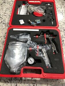 Mac Tools Auto Paint Spray Gun And Accessories Kit Multi Use Primer Clear