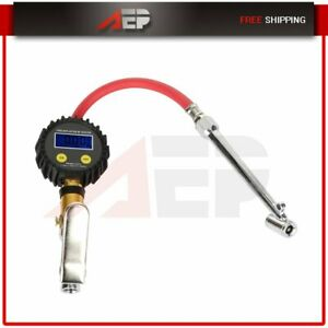For Audi Q2 A6 A8 Quattro A7 Sportback Digital Tire Pressure Gauge 0 200 Psi