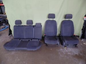 06 07 08 09 Vw Jetta Cloth Front Rear Manual Seats Complete Set Oem