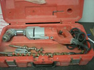Milwaukee 1107 1 1 2 Right Angle Drill W Case Bits