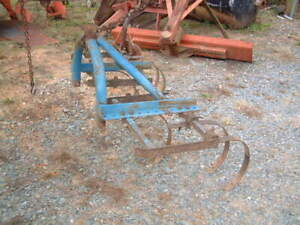 Heavy Duty Large 7 Spring Plow 3 Point 5 Ft