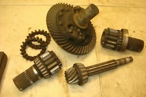 1953 Oliver 77 Tractor Ring Pinion Gears Bull