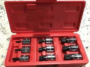 Mac Tools Sxmts9b Metric Triple Square Bit Driver Set 9 Pc Nice