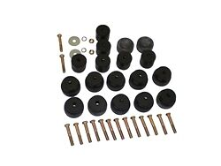 68 69 70 71 72 Chevelle Body Bushing Kit Convertible Complete With Hardware
