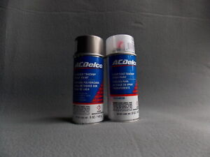 Genuine Gm Acdelco Touchup Spray Paint Pepperdust Metallic Clear Coat