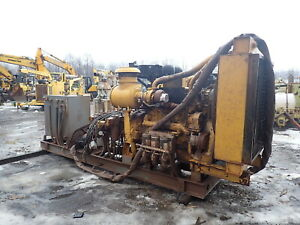 Caterpillar C18 Turbo Diesel Engine Hydraulic Power Unit Pump 630 Hp Cat