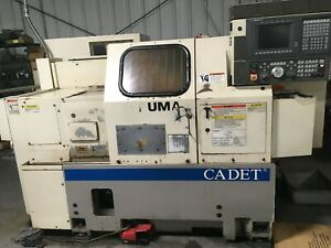 1997 Okuma Lnc 8c Cadet Cnc Turning Center Lathe Tailstock With Collet Chuck