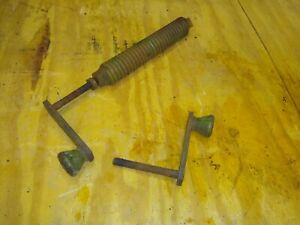 John Deere 14t Square Hay Baler Camber Tension Spring With Two Crank Handles