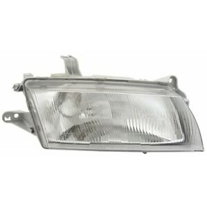 Ma2503112 Fits 1997 1998 Mazda Protege Head Light Passenger Side W bulbs
