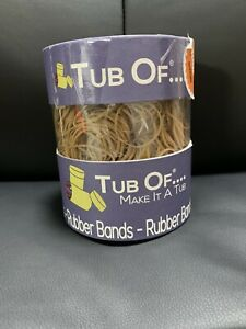 New Rubber Band Tub Off Size 14 2 1 16 1 Pound Re usable Tub 2200 Qty