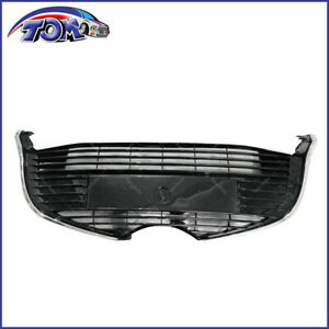 Front Lower Bottom Center Grille For Toyota Yaris Hatchback 15 17 Glossy Black