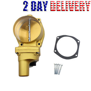 Throttle Body Performance Drive By Wire Lsx 102mm For Chevrolet Corvette Ss Gold