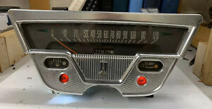 1959 Plymouth Savoy Fury Belvedere Speedometer Gauge Cluster Tested Works