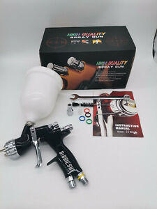 Devilbiss Te20 Gti Pro Lite Spray Gun Professional Paint Gun 1 3mm Nozzle Black